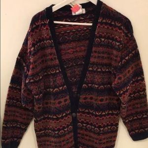 Vintage Clean Multi-Color Talbots Sweater
